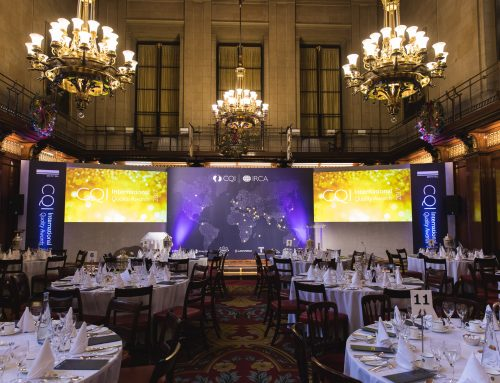 The first CQI International Quality Awards 2017 – what a success!