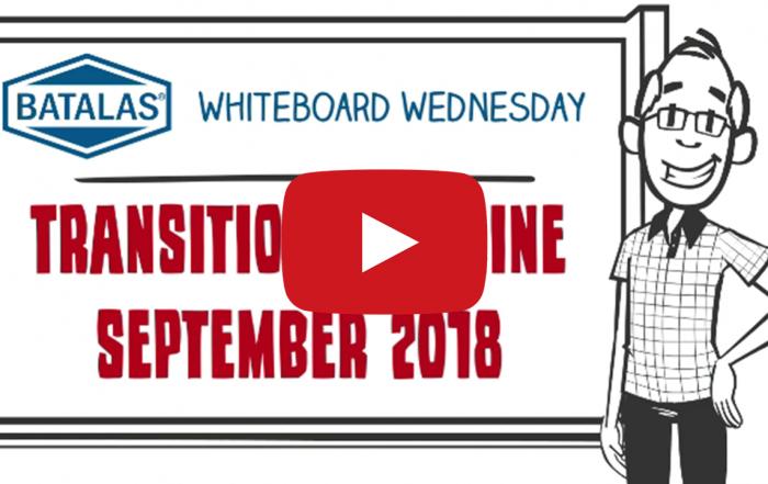 Transition deadline September 2018
