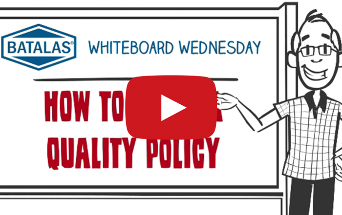 How to write a quality policy
