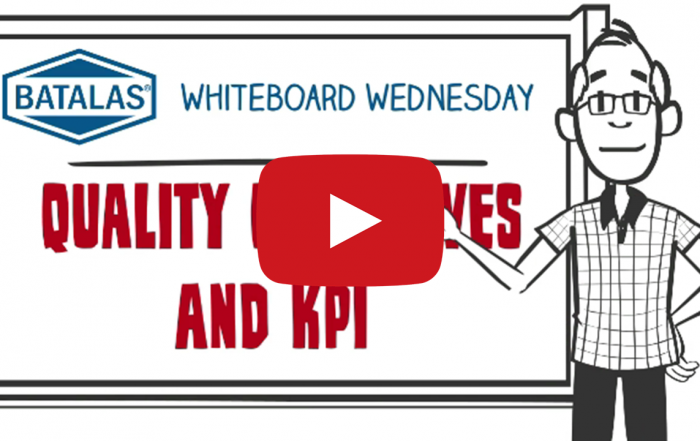Quality objectives and KPIs