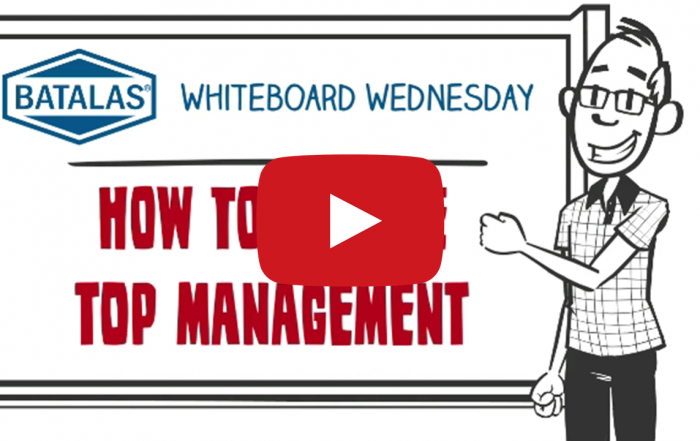How to engage top management