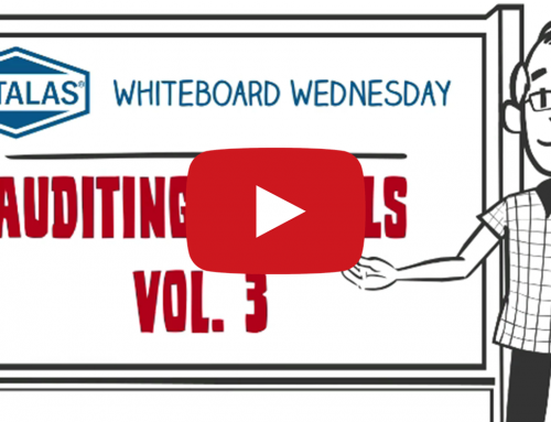 Whiteboard Wednesday – Auditing Pitfalls vol 3