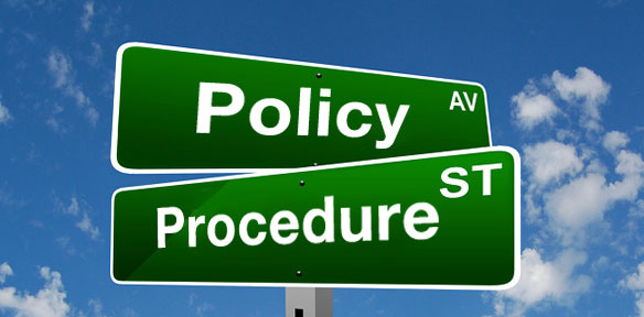 Policy v Procedure