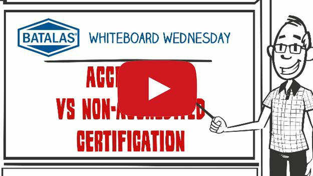 Accredited vs non-accredited certification