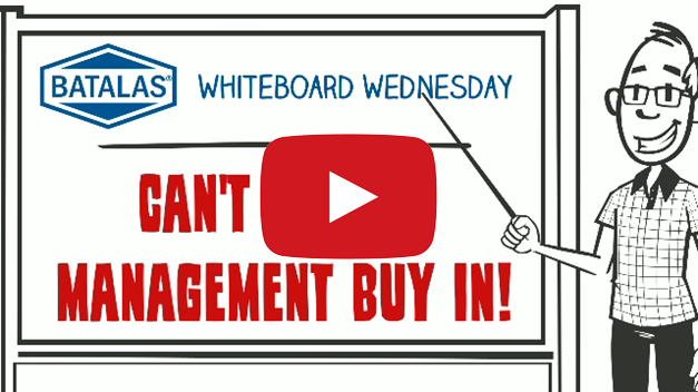 Can't get top management buy in