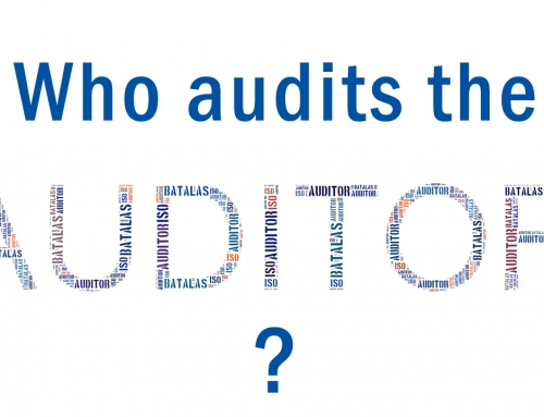 Who's auditing the auditor?