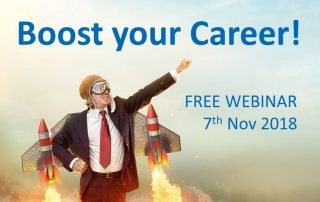boost your career - webinar