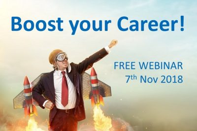 boost your career - webinar