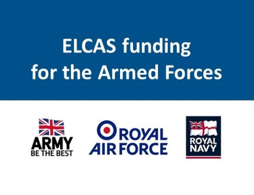 Batalas has become an ELCAS Approved Learning Provider