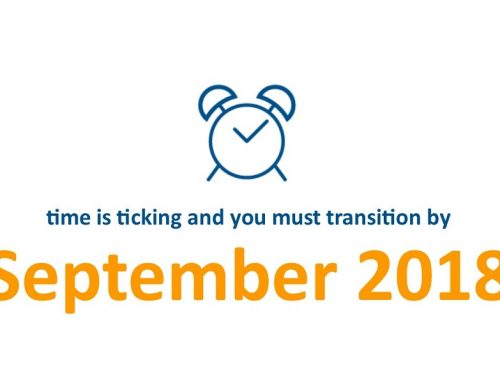 Transition deadline – time is ticking!